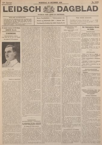 Leidsch Dagblad 1930-12-10