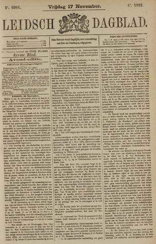 Leidsch Dagblad 1882-11-17