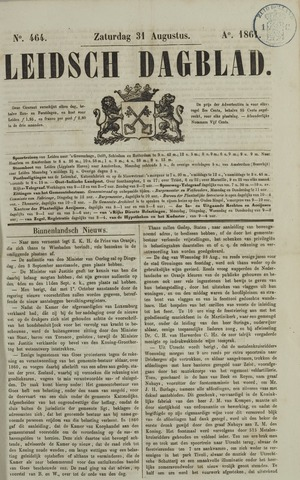 Leidsch Dagblad 1861-08-31