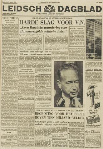 Leidsch Dagblad 1961-09-19