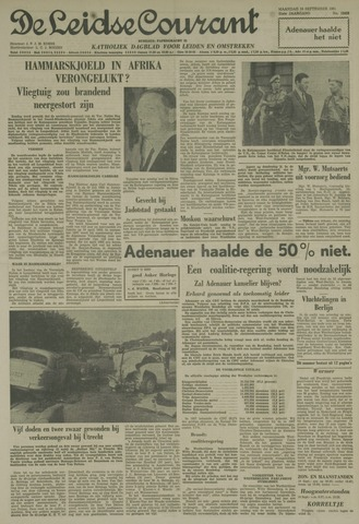 Leidse Courant 1961-09-18