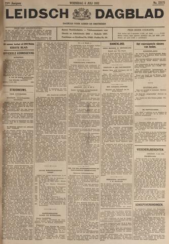 Leidsch Dagblad 1932-07-06