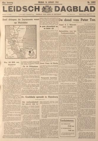 Leidsch Dagblad 1942-01-16