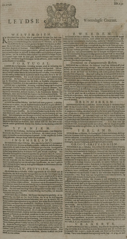 Leydse Courant 1726-10-30