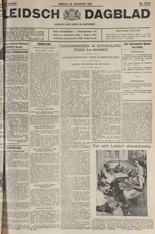 Leidsch Dagblad 1932-08-23