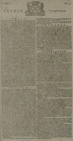 Leydse Courant 1734-05-07