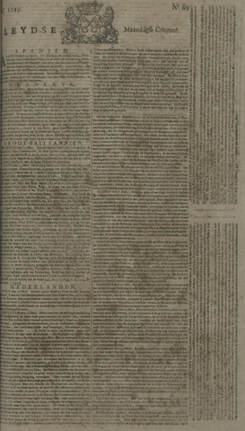 Leydse Courant 1743-05-20