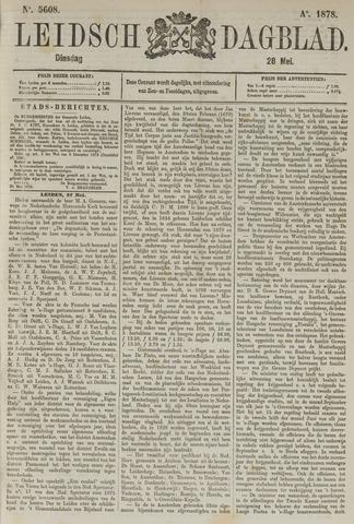 Leidsch Dagblad 1878-05-29