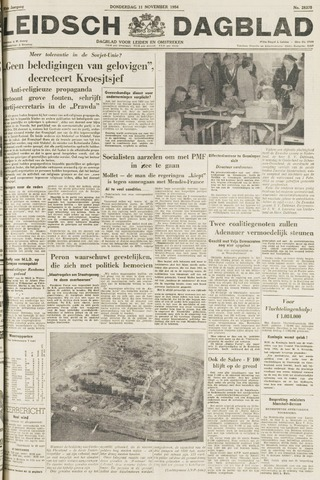 Leidsch Dagblad 1954-11-11