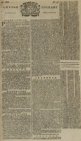 Leydse Courant 1808-08-10