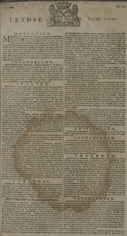 Leydse Courant 1729-12-30
