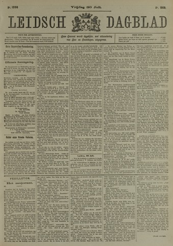 Leidsch Dagblad 1909-07-30