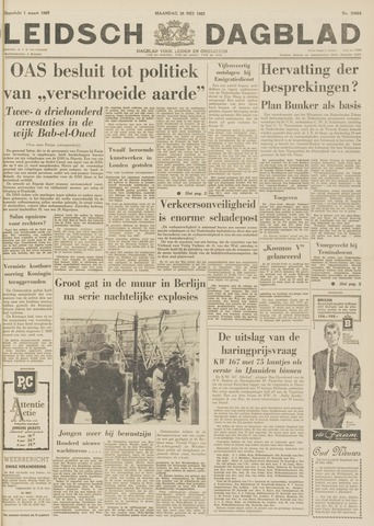 Leidsch Dagblad 1962-05-28