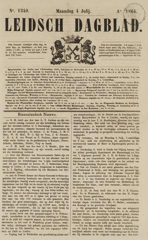 Leidsch Dagblad 1864-07-04