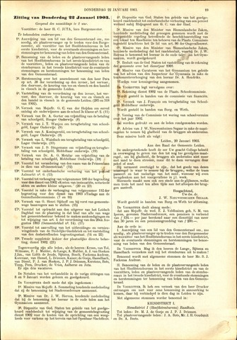 Handelingen van de Raad 1903-01-22