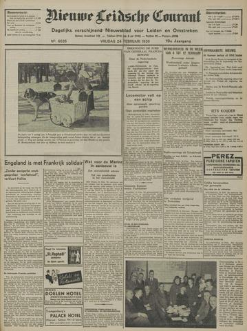 Nieuwe Leidsche Courant 1939-02-24