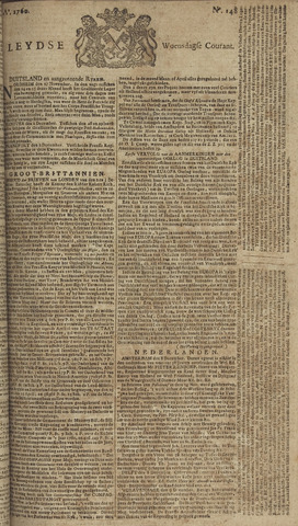 Leydse Courant 1760-12-10