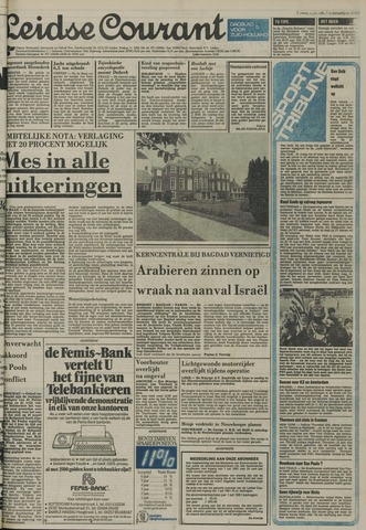 Leidse Courant 1981-06-09