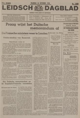 Leidsch Dagblad 1938-09-26