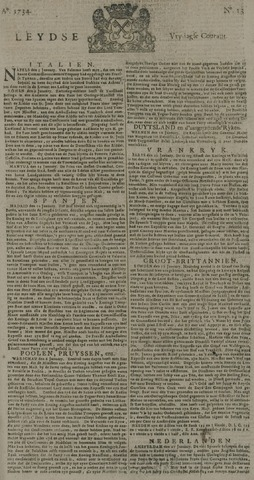 Leydse Courant 1734-01-29
