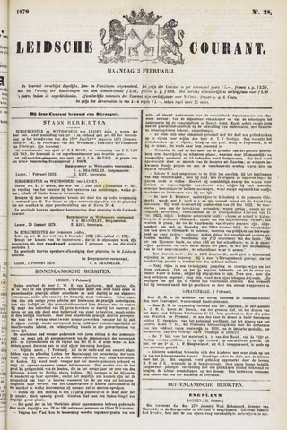 Leydse Courant 1879-02-03