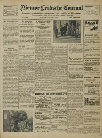 Nieuwe Leidsche Courant 1939-07-06