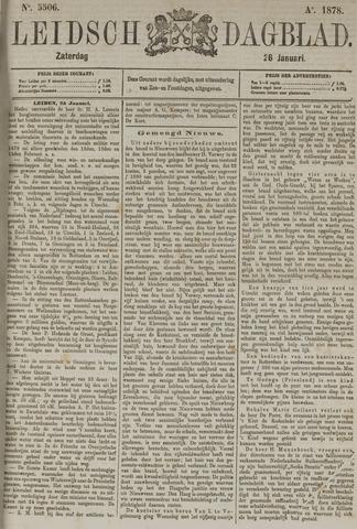 Leidsch Dagblad 1878-01-26