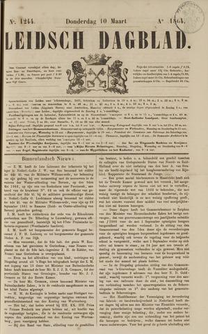 Leidsch Dagblad 1864-03-10