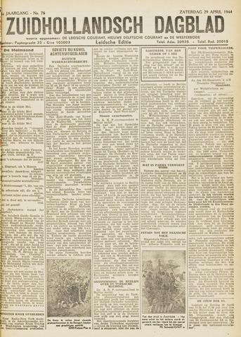 Zuidhollandsch Dagblad 1944-04-29