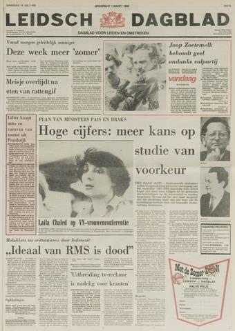 Leidsch Dagblad 1980-07-14