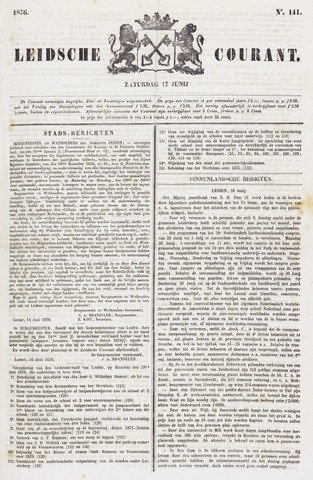 Leydse Courant 1876-06-17