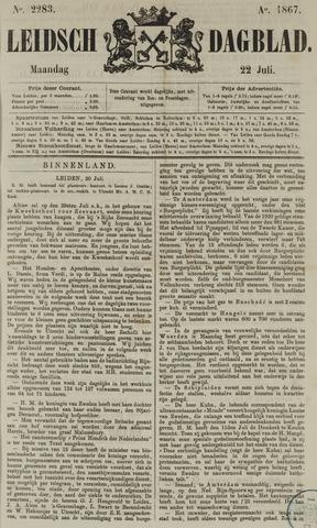 Leidsch Dagblad 1867-07-22