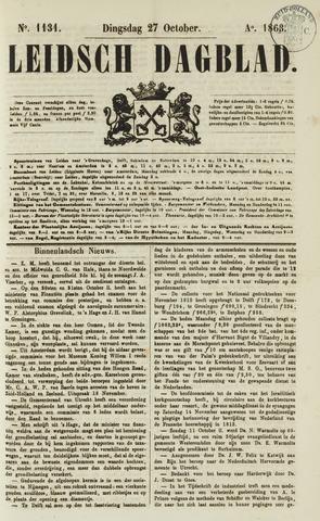 Leidsch Dagblad 1863-10-27