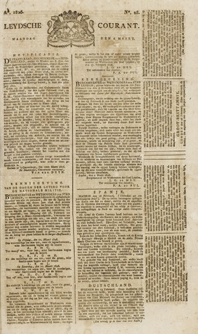 Leydse Courant 1826-03-06