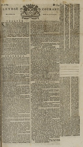 Leydse Courant 1789-10-19