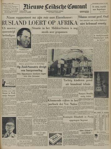 Nieuwe Leidsche Courant 1957-04-08