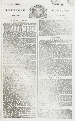 Leydse Courant 1838-01-26