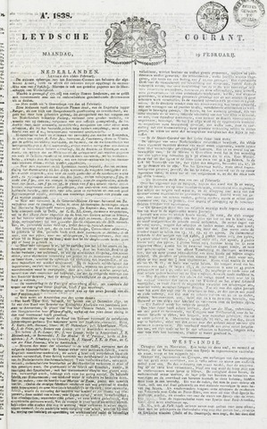 Leydse Courant 1838-02-19