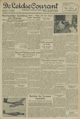 Leidse Courant 1950-08-29