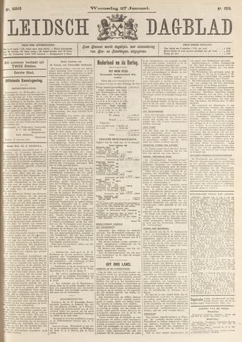 Leidsch Dagblad 1915-01-27