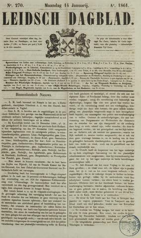 Leidsch Dagblad 1861-01-14
