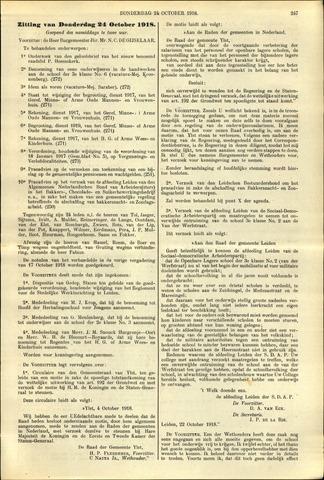 Handelingen van de Raad 1918-10-24