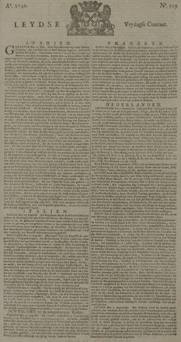 Leydse Courant 1740-09-09