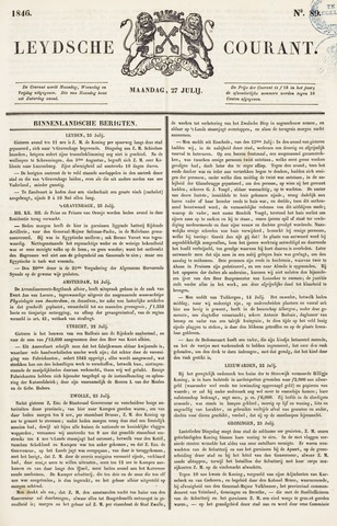 Leydse Courant 1846-07-27