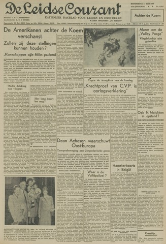 Leidse Courant 1950-07-13