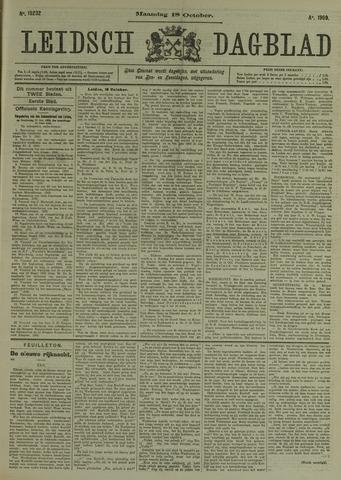 Leidsch Dagblad 1909-10-18