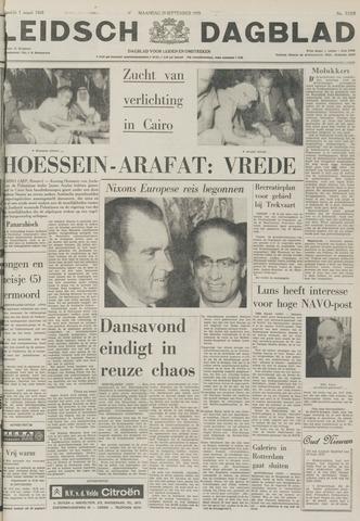 Leidsch Dagblad 1970-09-28