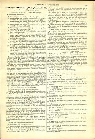 Handelingen van de Raad 1900-09-13