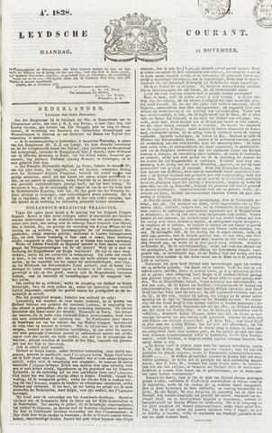 Leydse Courant 1838-11-12