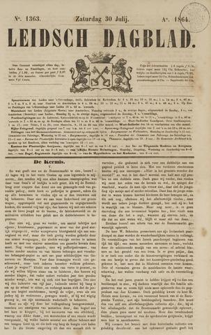Leidsch Dagblad 1864-07-30
